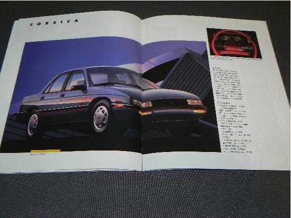 Chevrolet Corsica cała gama - 1988 - USA