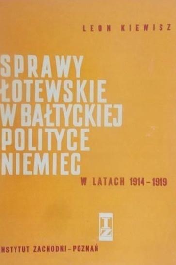 Sprawy Łotewskie w Bałtyckiej polityce