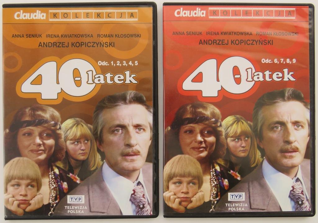 Czterdziestolatek / 2 DVD /