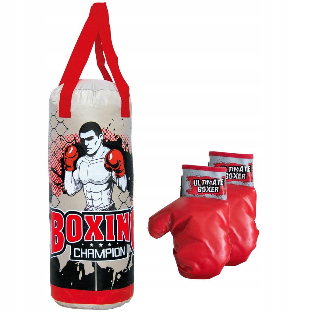 Zestaw bokserski junior Enero worek treningowy 50x