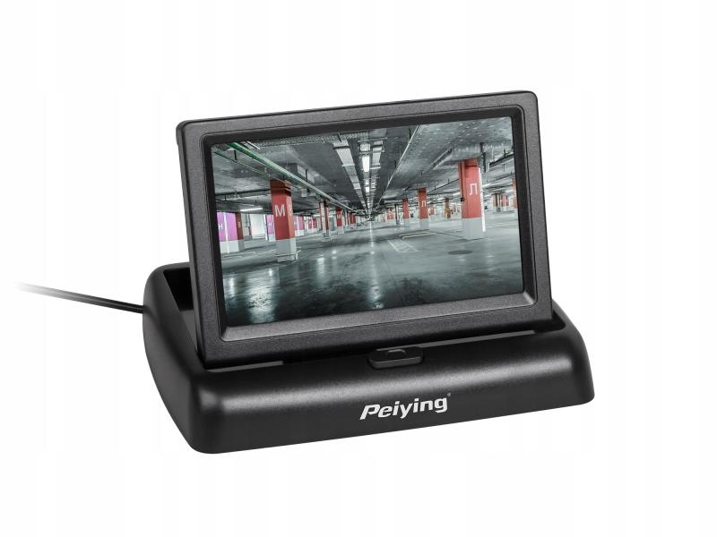 """Monitor samochodowy Peiying 4,3"""""""