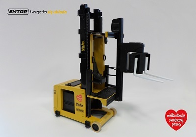 Unikatowy model wózka elektrycznego Yale seria MTC