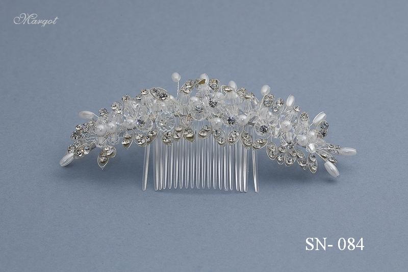 Stroik ślubny SN084 - fryzury ślubnej, głowę