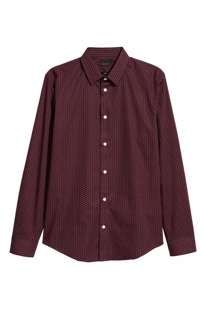 H&M, XS, koszula slim fit, Premium quality