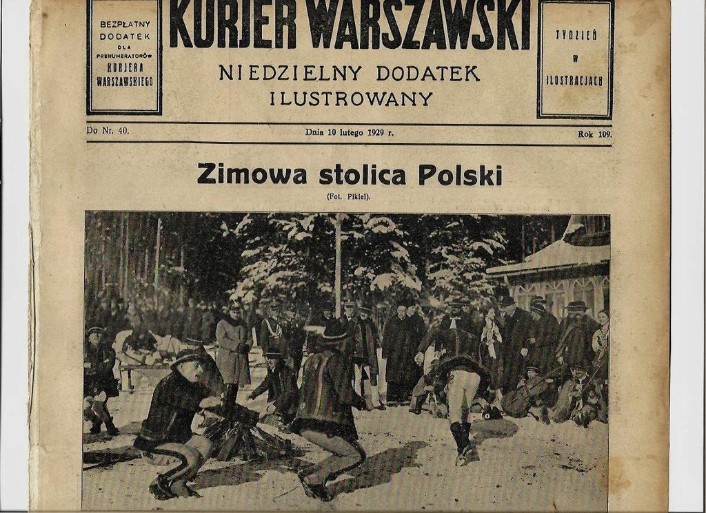 1929 ZAKOPANE Mościcki Karłowicz Nieznamierowice