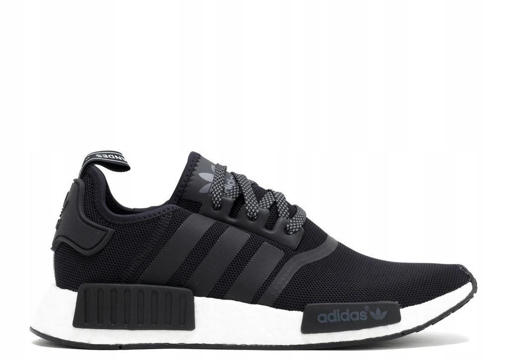 buty adidas nmd czarno biale