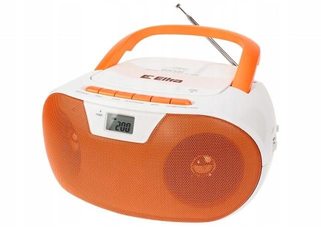 Eltra Radio MASZA biało-pomarańczowy