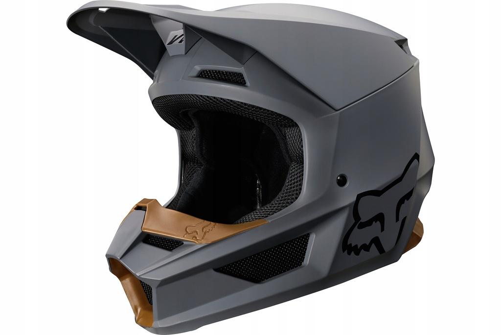 Fox Helmet V-1 Matte Stone S