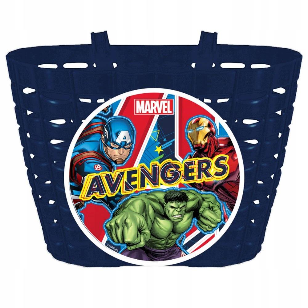 KOSZYK NA KIEROWNICĘ ROWER HULAJNOGĘ Avengers