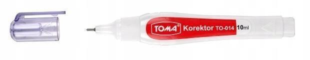 Korektor w pisaku 10ml (12szt) TOMA