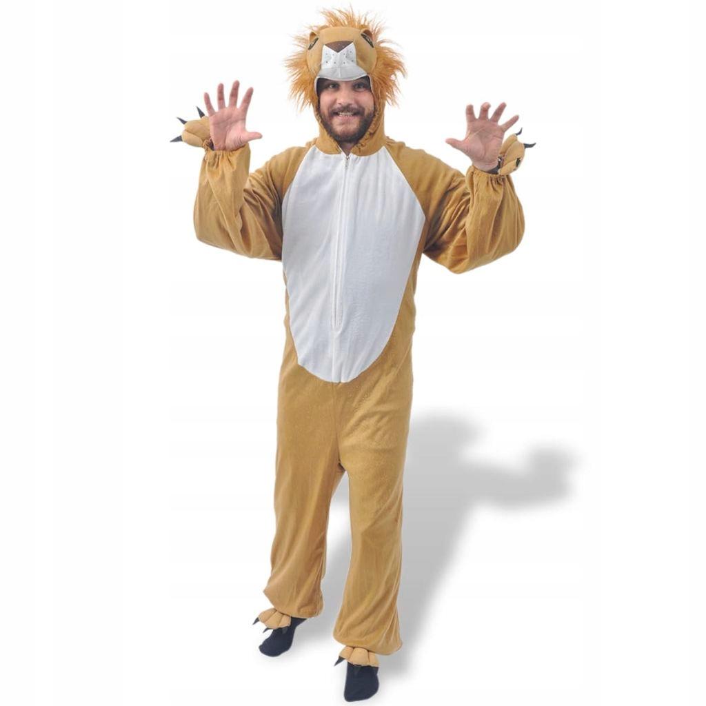 Karnawałowy kostium lwa, M-L