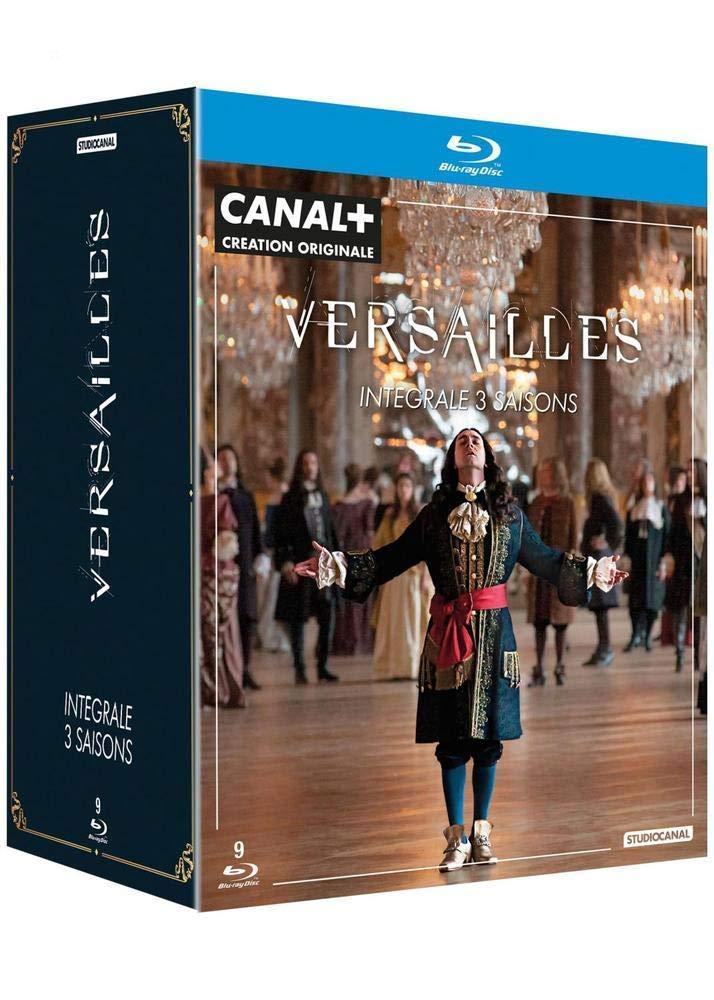 Wersal Prawo Krwi (9 Blu-ray) Versailles Sezon 1-3