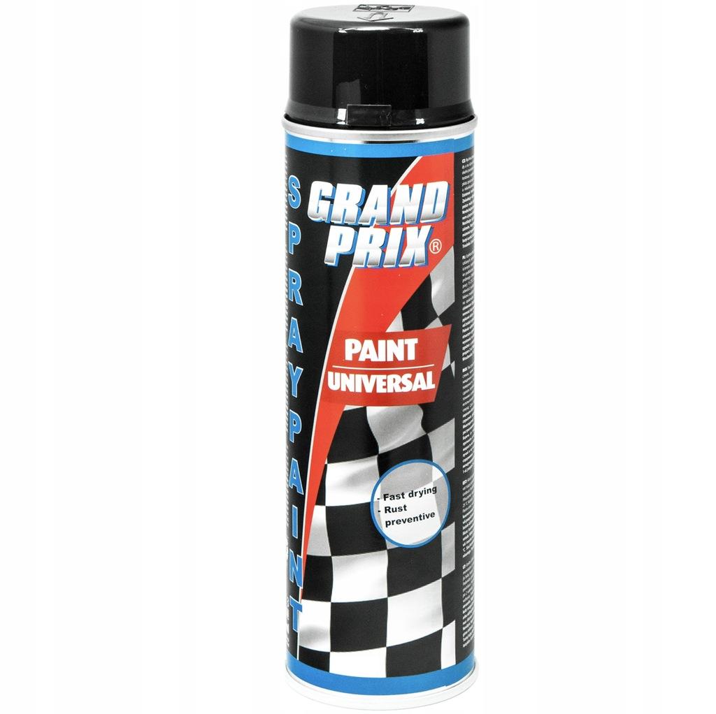 Lakier akrylowy 500ml GRAND PRIX czarny połysk
