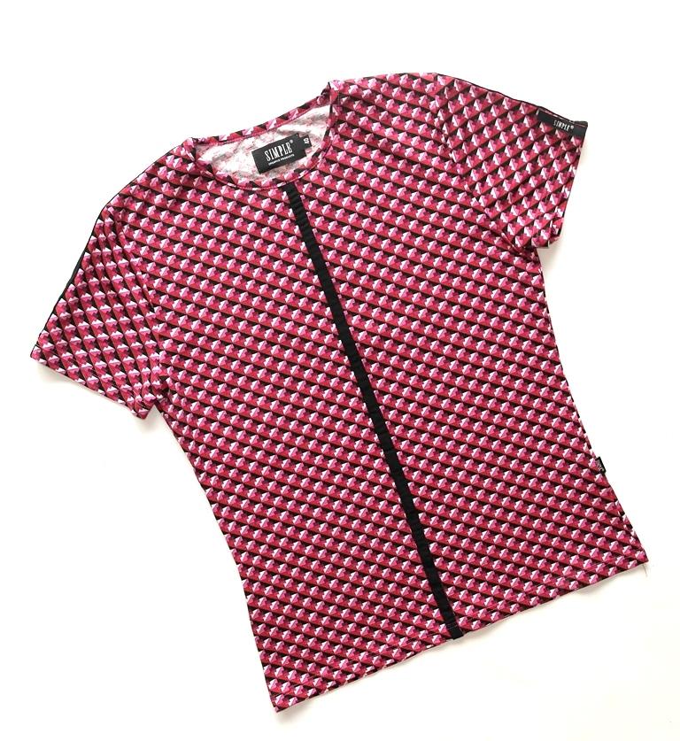 Betty Barclay składane spódnica geometryczny wzór kolorowy
