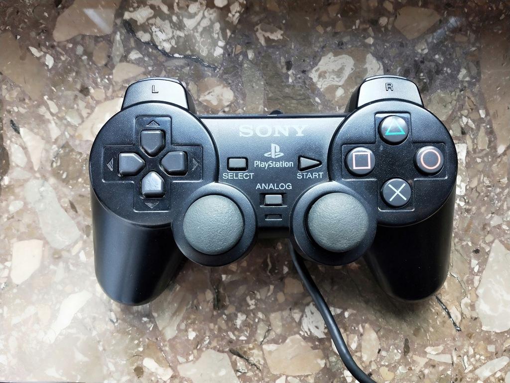 PS2 Oryginalny Dualshock 2 - Stan BDB
