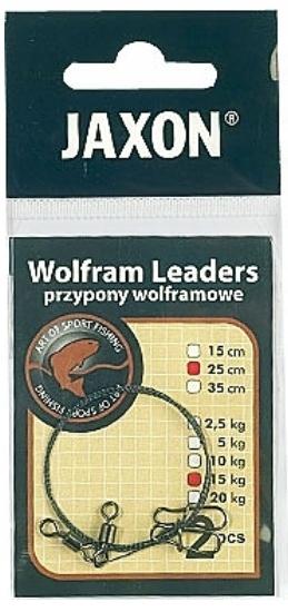 2,5 kg Jaxon Wolfram Vorfach BS 25 cm 2 St/ück