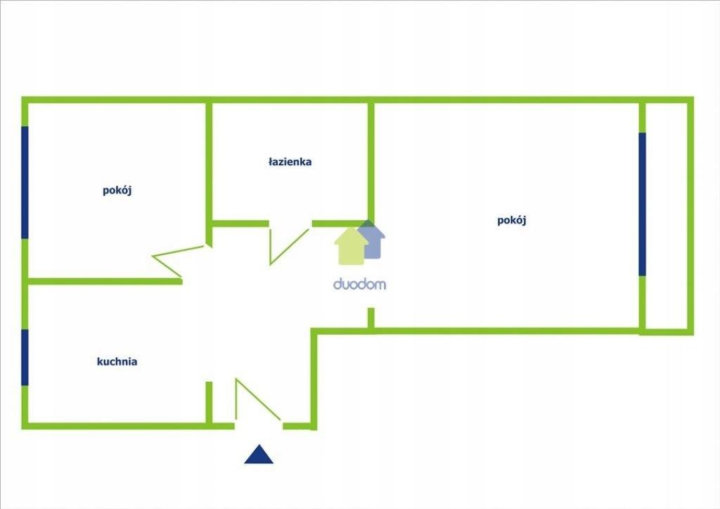 Mieszkanie, Kraków, Nowa Huta, Os. Kolorowe, 50 m²
