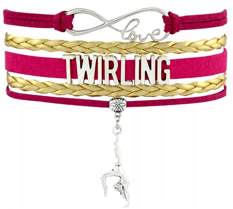 Bransoletka ZORKA TU316 Twirling BR03 różowo złoty