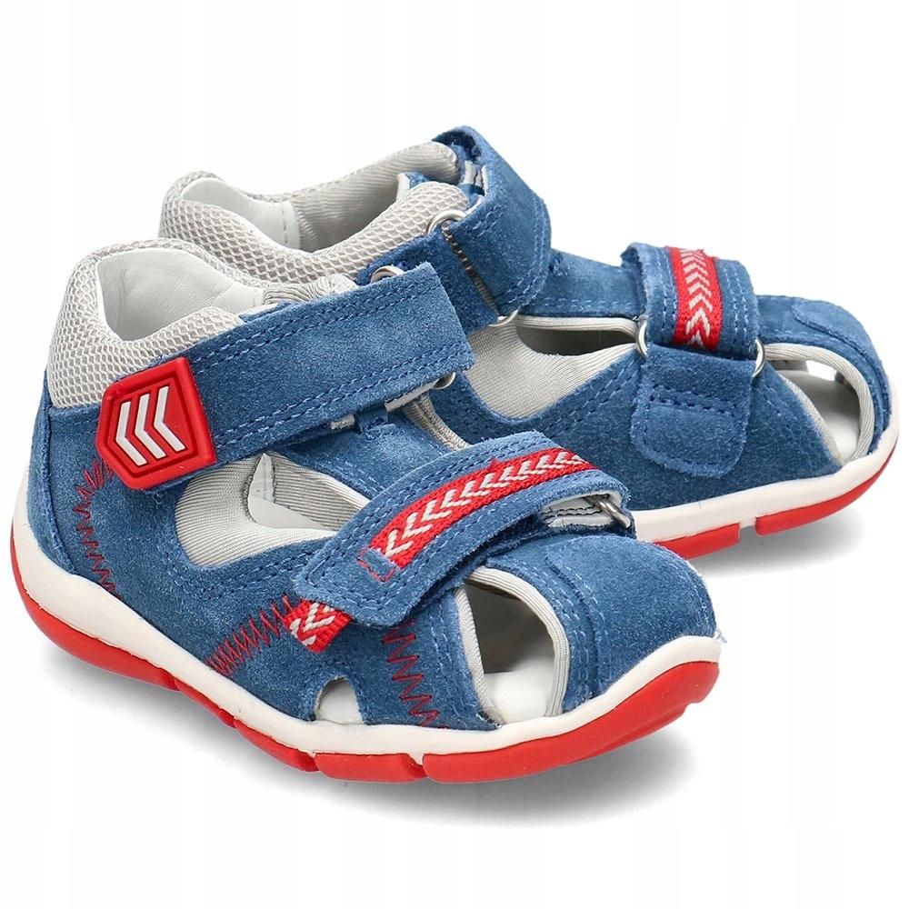 Superfit Niebieskie Sandały Dziecięce R.19