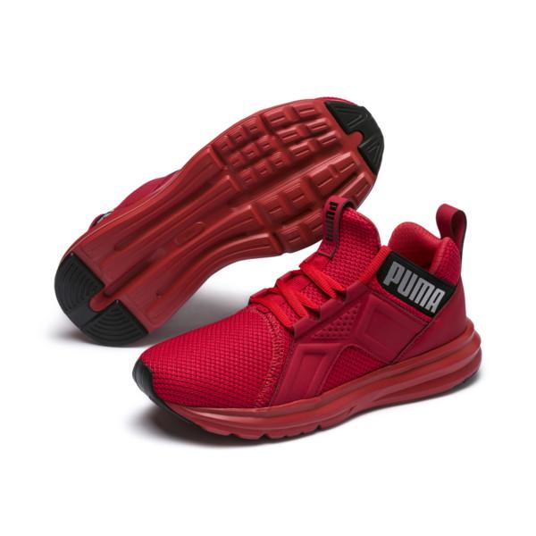 Sneakersy PUMA Enzo Weave Jr 192305 02 High Risk RedPuma Black
