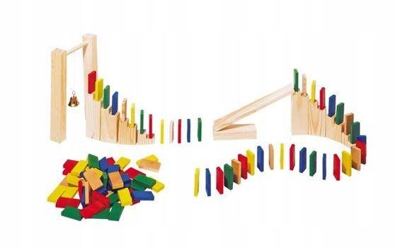 Drewniane domino, 250 elementów