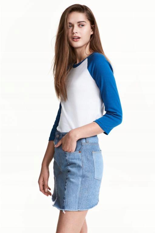 H&M HM Bluza bejsbolowa 36 S