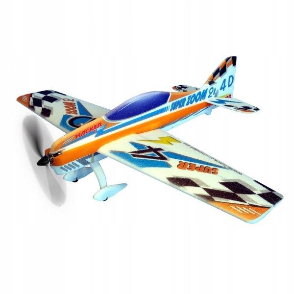 Super Zoom 2 ARF Orange - Samolot Hacker Model