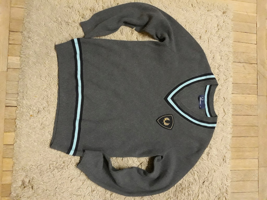 Fred Perry sweter szary XS S ska oi