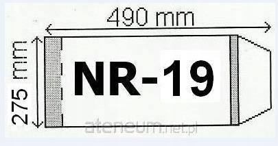 Okładka na podr A4 regulowana nr 19 (50szt) NARNIA