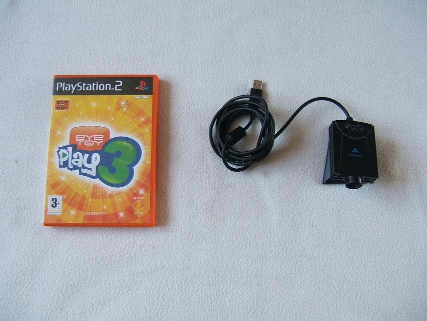Kamera Eye Toy PS2 Sony + gra Eye Toy Play 3