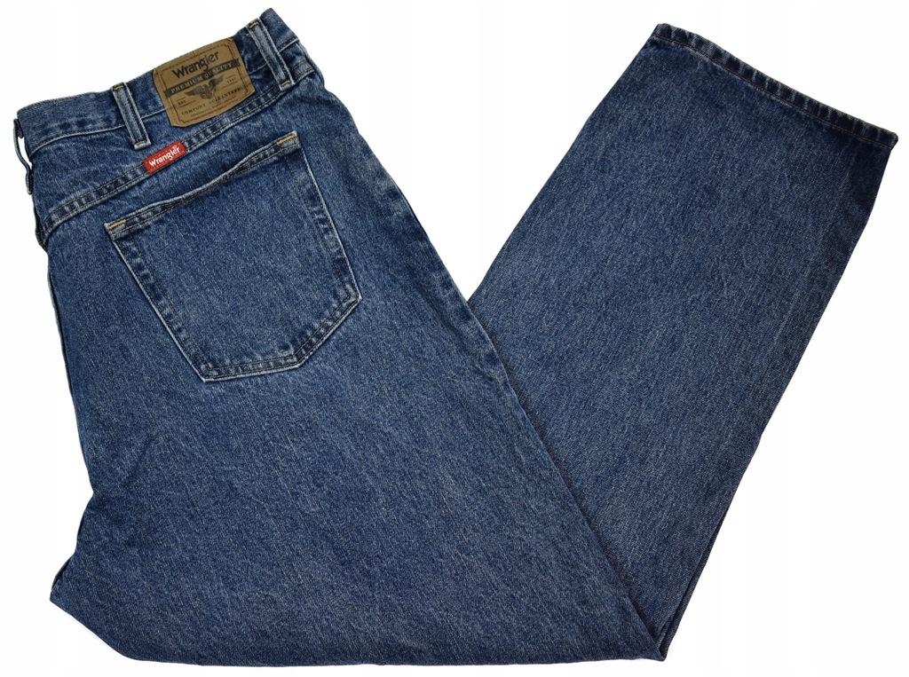 Duże Spodnie Wrangler z USA R40/30 Pas102cm SD796