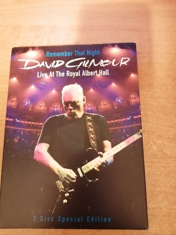 DAWID GILMOUR – LIVE AT THE ROYAL ALBERT HALL