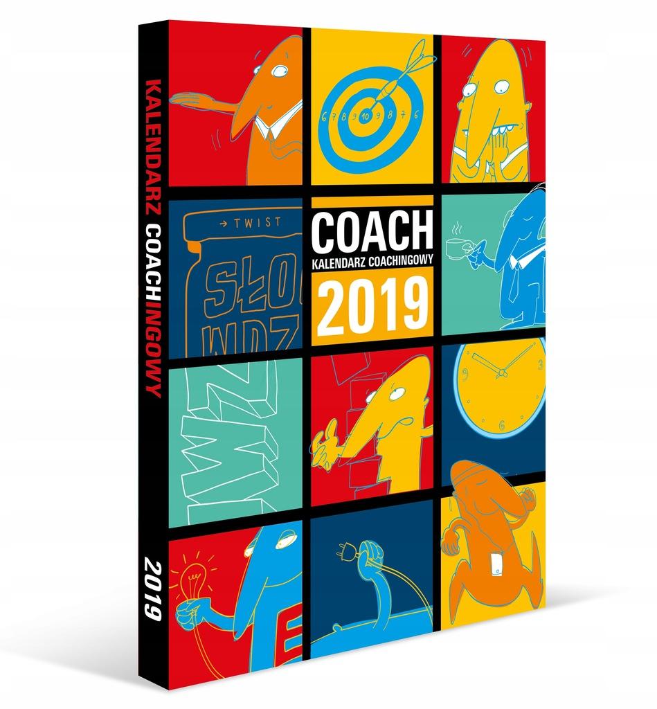 kalendarz książkowy coachingowy COACH 2019