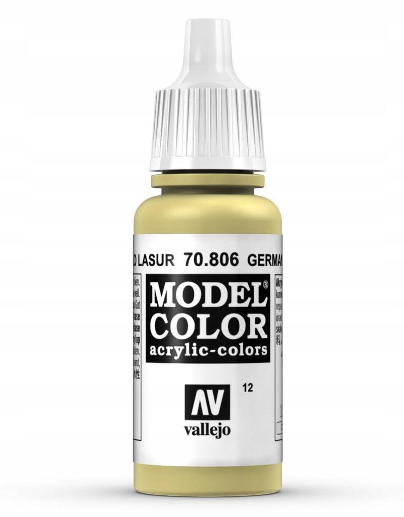 Vallejo 70806 Model Color German Yellow 70.806