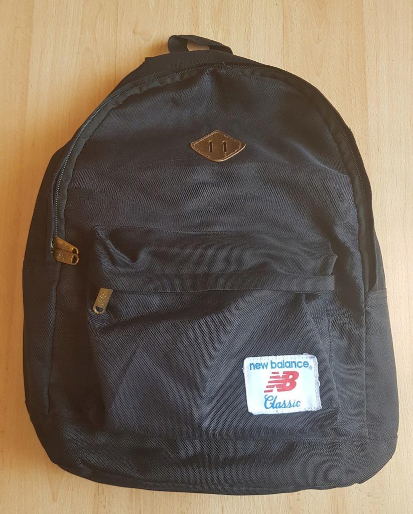 Plecak czarny NEW BALANCE CLASSIC miejski