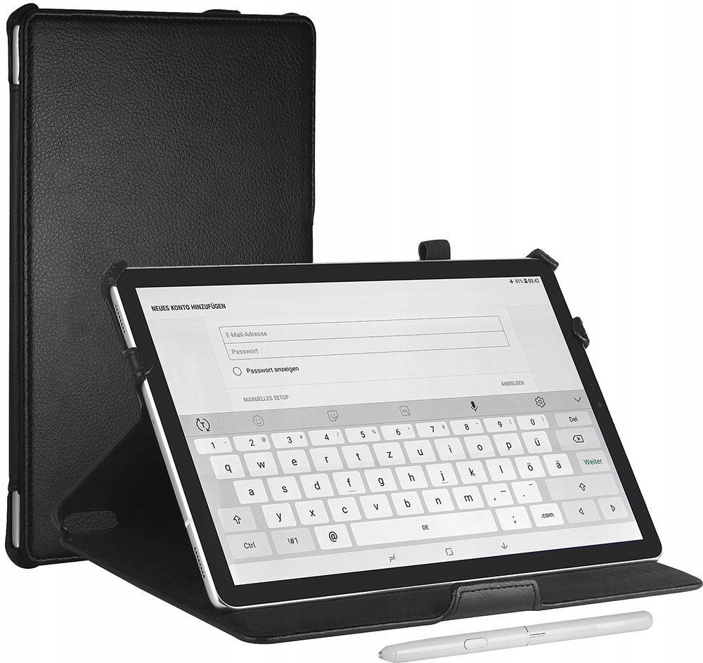 Stilgut | Etui skórzane case | Galaxy Tab S4 10.5