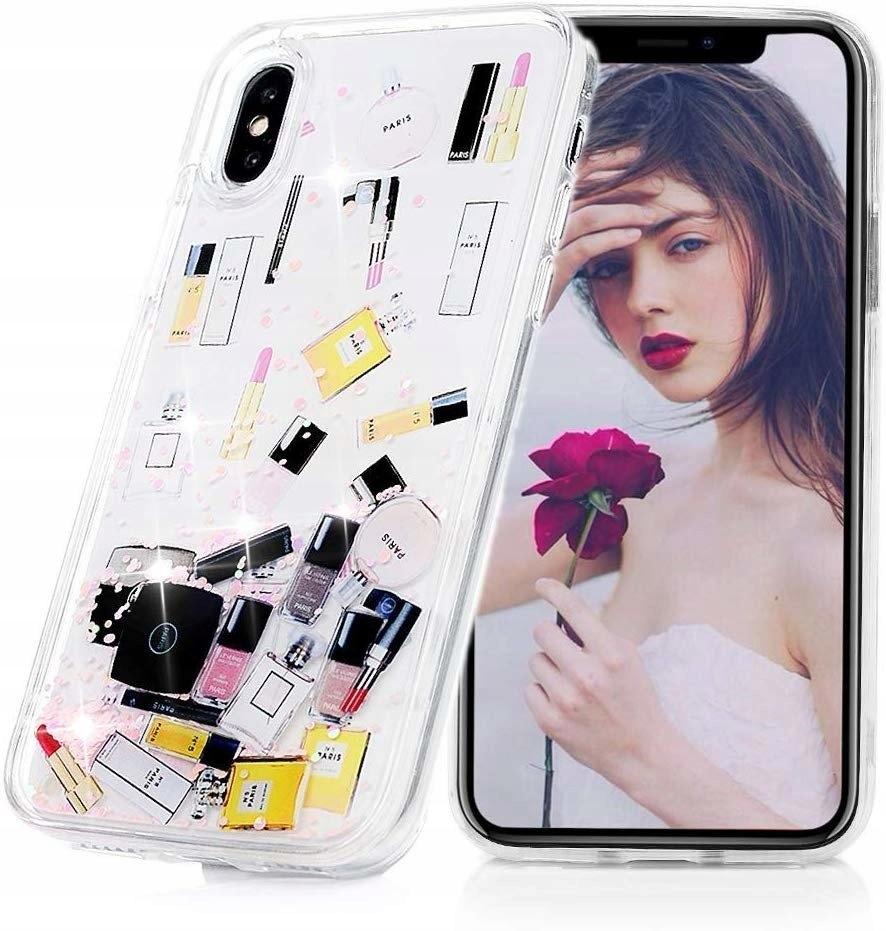 Etui Make Up IPHONE X / XS Liquid Brokat case