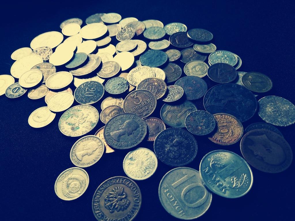 zestaw monet/zestaw starych monet (z3 )od 1 zł bcm