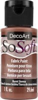 Farba do ubrań SoSoft - Burnt Sienna - 29ml