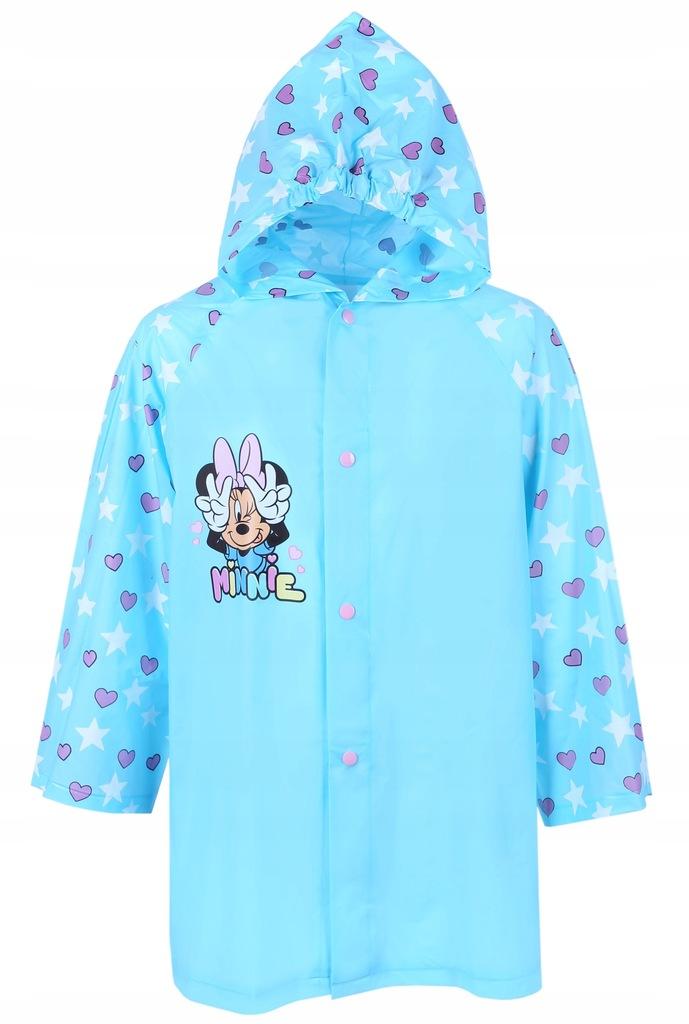Błękitny płaszcz przeciwdeszczowy Minnie DISNEY