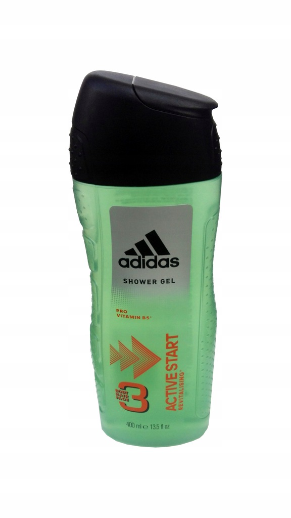 Image result for Adidas 3in1 Shower Gel 400mL (Active Star - Pro Vitamin B5)