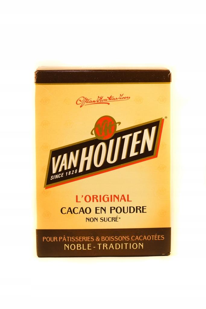 Van Houten Kakao 250g Ciemne 100 Bez Cukru 8060079841 Oficjalne Archiwum Allegro