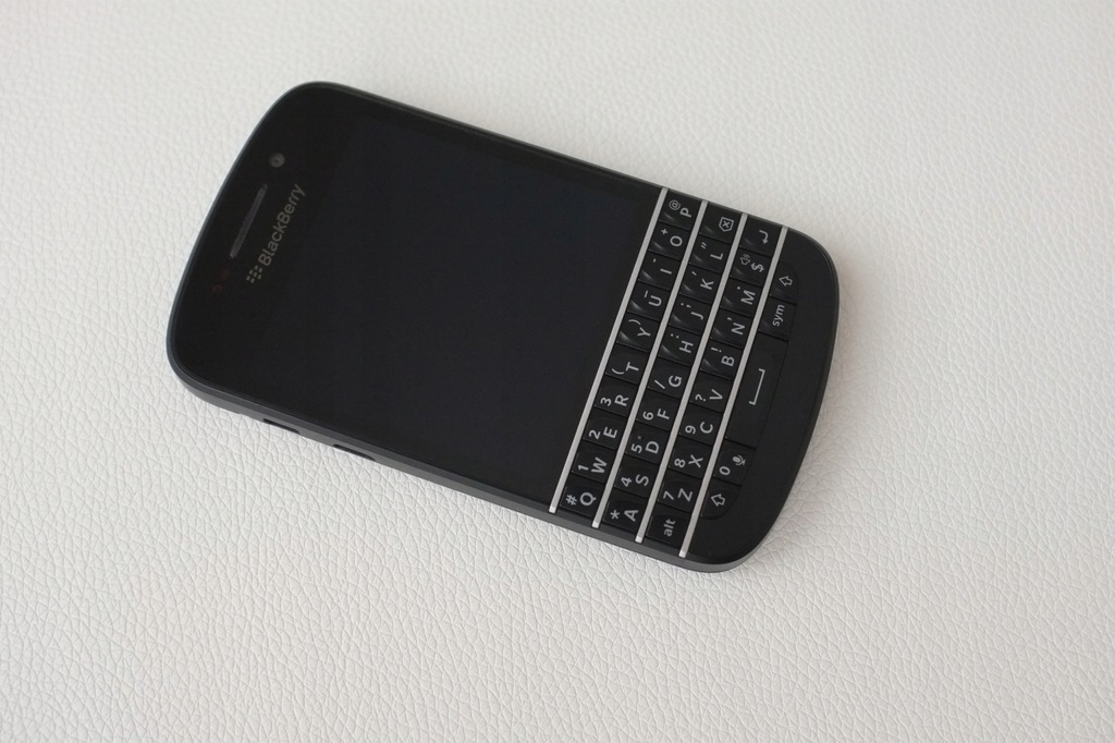 BlackBerry Q10 Black QWERTY SQN100-3 LTE 16GB NOWY