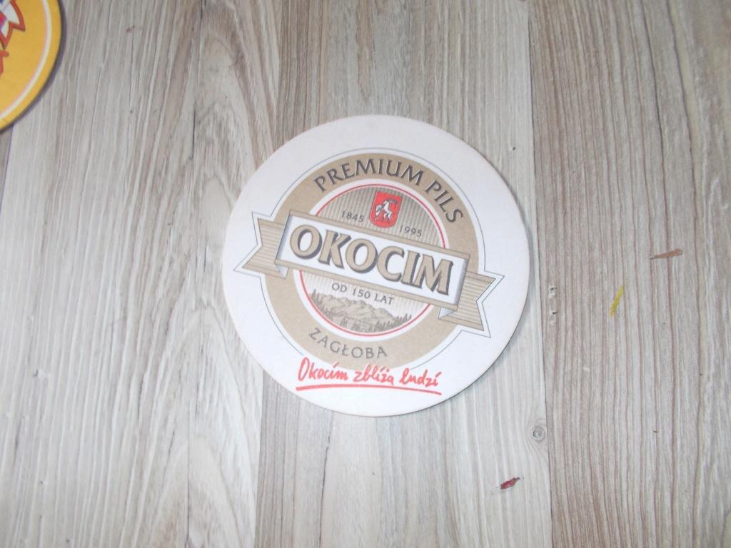 Browar Okocim Premium Pils podstawka piwna