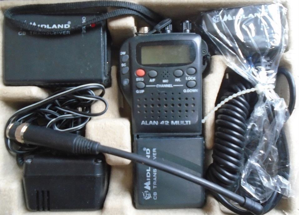 ALAN 42 multi - zestaw cb radio
