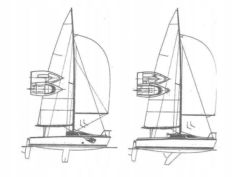 Jacht kabinowy klasy mikro Skrzat 550 Sherida