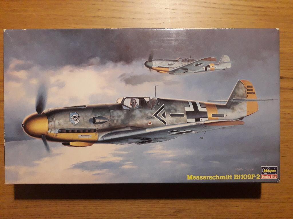 Messershmitt Bf109 F2 Hasegawa 1:48