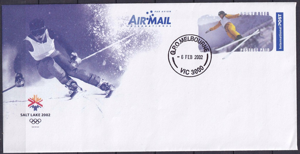AUSTRALIA Ck z 2002r, Sport,Olimp.Salt Lake City02