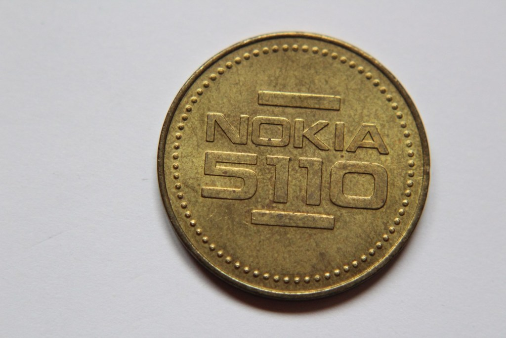 ŻETON  NOKIA 5110 - W022