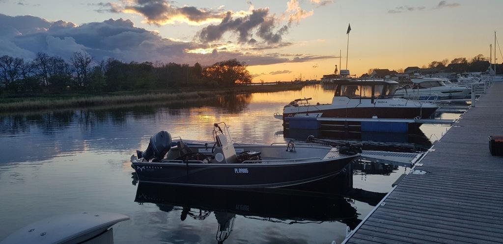 łódz aluminiowa wędkarska skylla